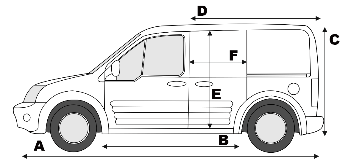 Transit center ford transit connect mk1 spezifikationen - Transit connect interior dimensions ...