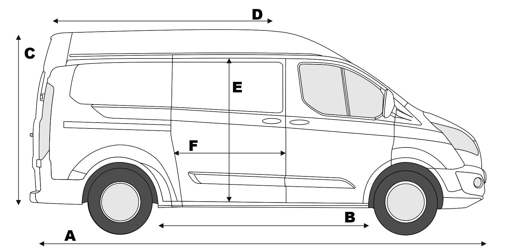 Ford Transit Kombi L2h2 автомобили форд