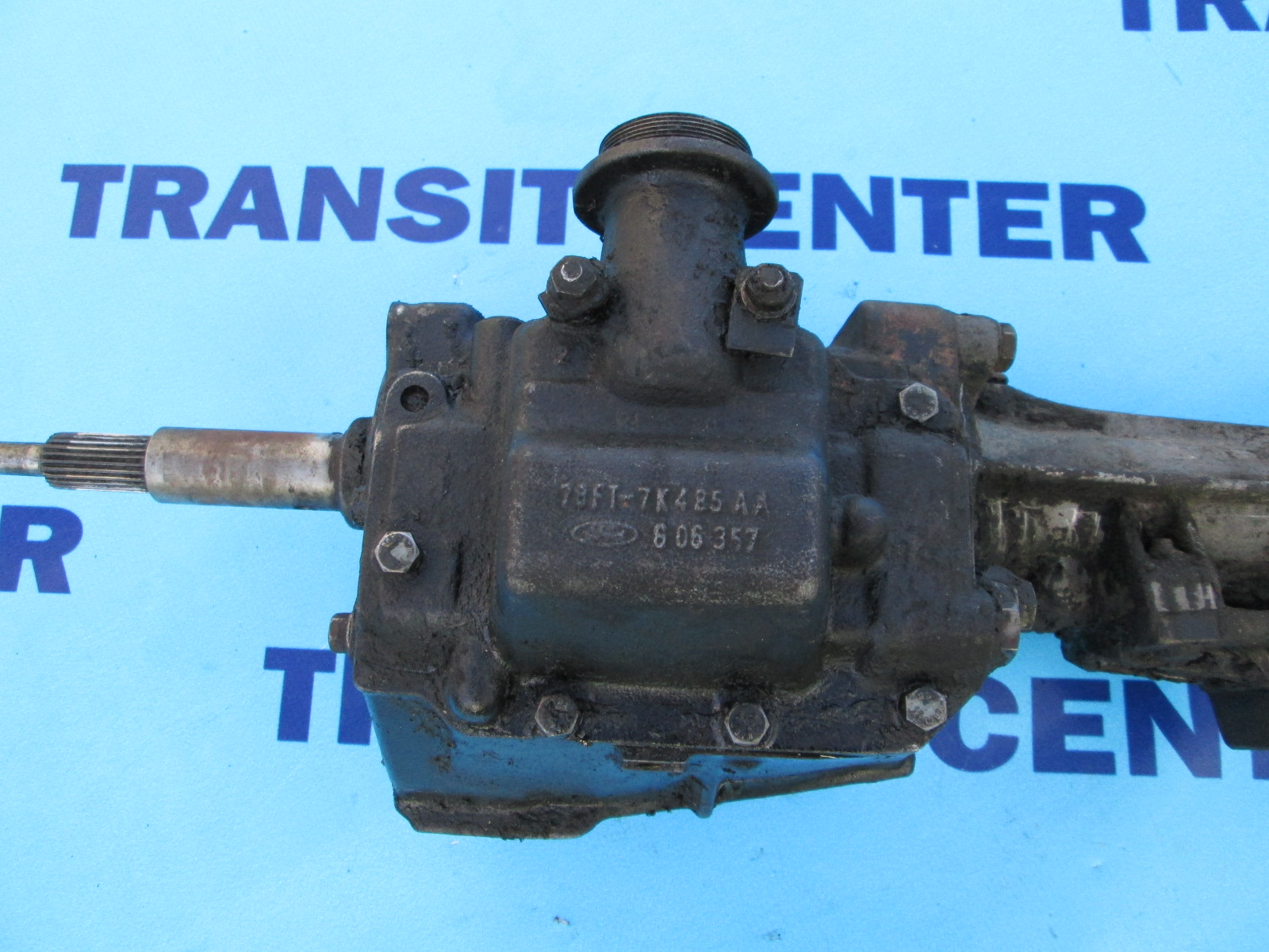 2013 Ford Transit Connect >> Getriebe 4 Gang Benzin Ford Transit 1978-1988