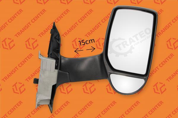 Pro!Carpentis Spiegel Spiegelglas kompatibel mit TRANSIT ab 08//2013 rechts oben beheizbar konvex Masse vergleichen 22 x 18
